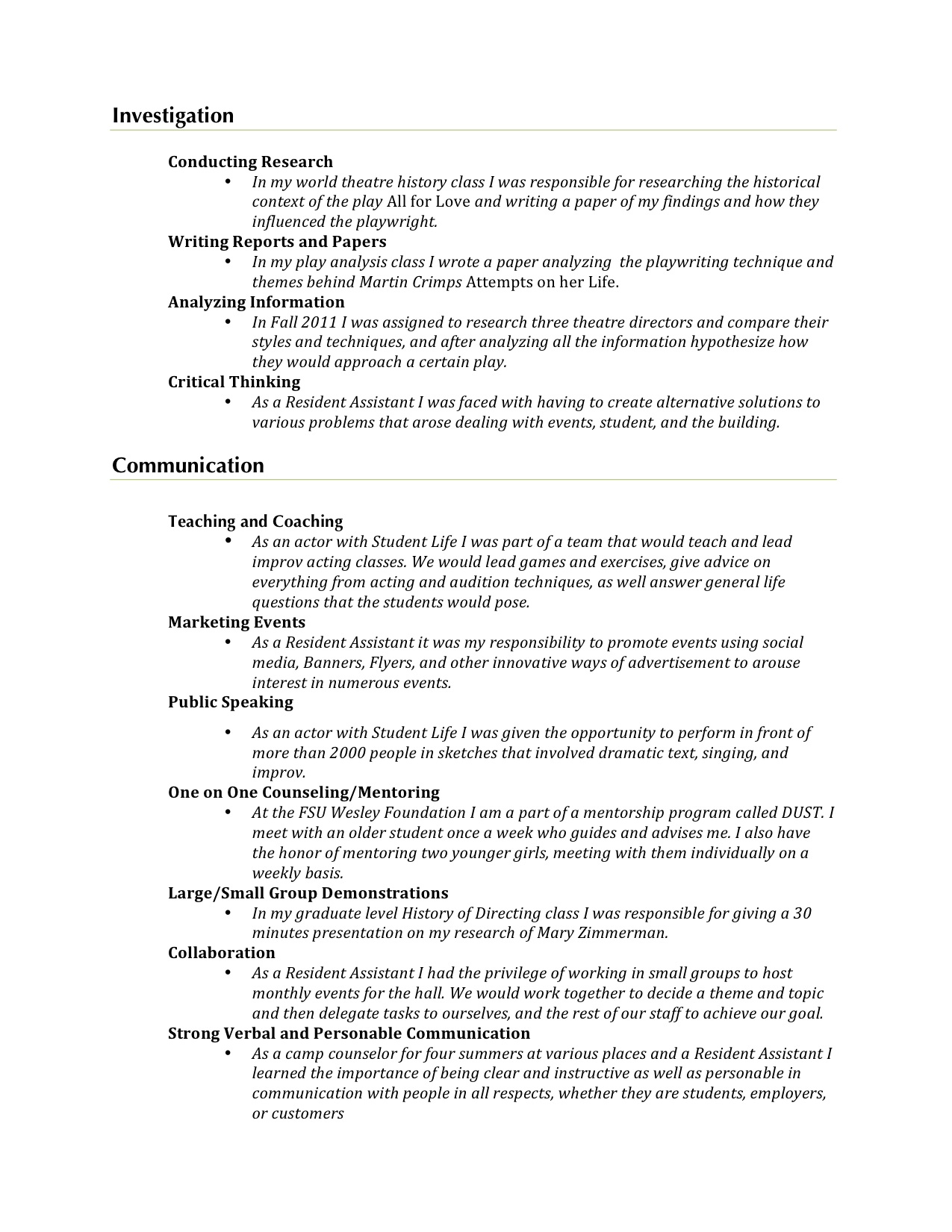 resume for it professional professional resume audrey jean resume for it professional 2203